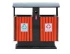 钢塑木果皮箱 模具成型加强板环卫垃圾筒现货批发 模压垃圾桶