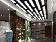 龙华餐饮店装修设计 茶馆 棋牌室装修 来电有优惠