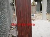 宝鸡廊架仿木纹 氟碳漆 金属木纹漆 钢架构木纹漆施工报价