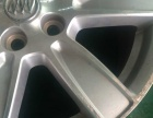 翻新二手车轮毂 修复旧轮毂 拉丝 电镀
