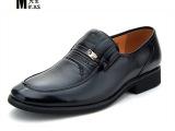 批发2014春季新款男士正装皮鞋真皮男鞋商务牛皮爸爸鞋尖头皮鞋