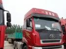 二手货车解放新大威双桥半挂牵引车5年18万公里8万