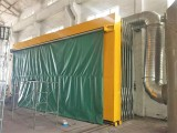 小型环保喷漆房价格,博兰德前期处理节省人工提升工件喷涂品质