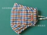 厂家直销 韩国时尚 男女格子花纹pm2.5防护口罩防雾霾活性炭过