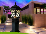 花园草坪灯园林绿化灯具 欧式仿古别墅室外灯 景观庭院户外防水