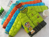 2014秋冬新款小熊儿童羽绒内胆 男女童装羽绒棉内胆 儿童羽绒棉