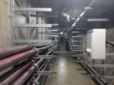 弧形电缆预埋槽道
