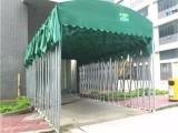 广西定做彩钢大篷加固铁皮篷推拉仓库篷活动伸缩蓬移动停车棚