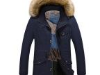 2016新款男式冬季外套加绒加厚休闲夹克