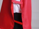 捆绑式套头志愿者红马甲 广告活动促销义工背心定制 批发免费印字