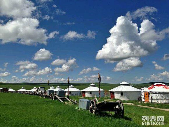 内蒙草原旅游包车 自助游 摄影