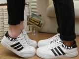 15春款帆布鞋 男士低帮情侣款鞋子 休闲韩版系带运动板鞋 单鞋