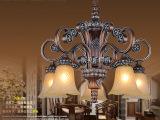 批发欧式树脂铁艺吊灯 餐厅吊灯 仿古欧式客厅吊灯 欧式灯