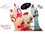 厂家直销绝望中的战斗鸡 大号惨叫鸡 整蛊发泄减压玩具 创意礼品