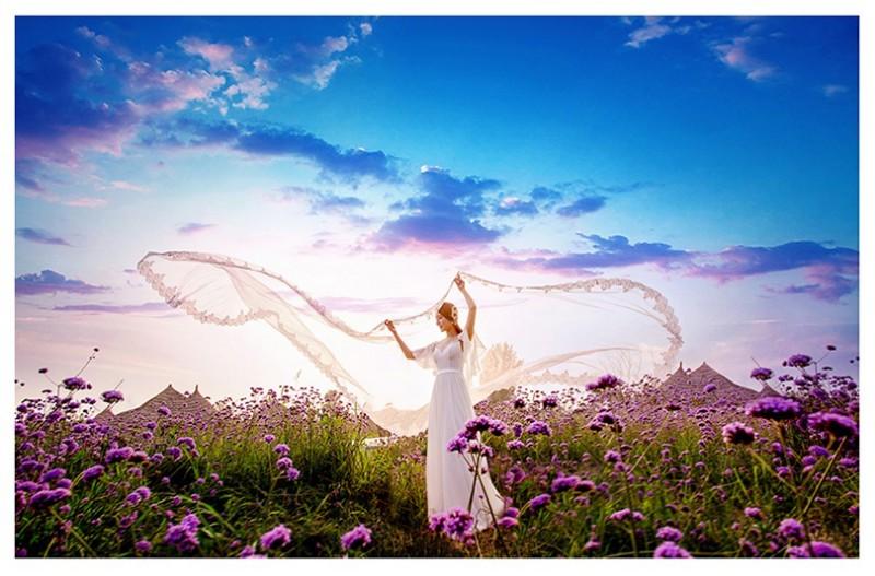 让时间停留在那个较幸福,美丽的瞬间 临沂海之礼婚纱摄影