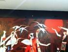 展览设计墙绘手绘