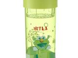 新品 便携防漏水杯  带盖随手杯  水滴随身杯子