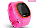 S866硅胶儿童智能定位手表 一键求救监