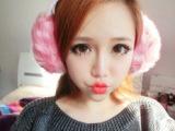韩国进口韩版冬天保暖可爱UGG仿皮草蝴蝶结发箍耳罩耳包耳暖 女