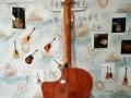 罗兰琴行出一把阿斯图里亚斯面单木吉他215AC!