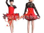 拉丁比赛 儿童表演 规定服 少儿基舞服 连体裙 可订做7001