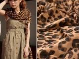 2014新款 韩国秋冬 雪纺U型豹纹围巾超大女披肩超长豹纹丝巾