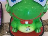儿童游乐新款碰碰车疯狂的青蛙亲子双人座山东驰胜厂家直销