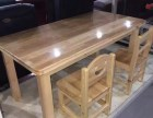 郑州幼儿园实木课桌