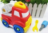 批发宝宝自己拆装消防喷水车玩具 3C认证,益智儿童玩具YLH8816E