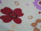 法兰绒面料批发 时尚条纹斑马纹法兰绒印花面料 高档水貂绒珊瑚绒