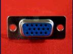 专业供应db15孔 15孔vga焊线接头 标准VGA接头