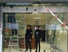 卷帘门订做玻璃门维修地弹簧 维修门禁磁力锁安装