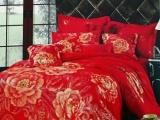 锦日家纺 全棉纯棉活性加厚磨毛磨绒床品法