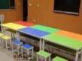 培训班课桌凳子