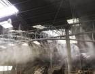 四川樂山礦石廠房噴霧降塵設備