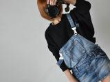 爆款新品出口韩国森系独家定制女装复古马海毛蝙蝠套头毛衣混批