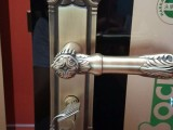 304不锈钢卧室木门锁房门锁实木门锁双舌静音执手锁,机械门锁