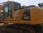 云南昆明二手挖掘机小松200-8手续齐全全国免费配送低价急转