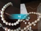 天然淡水白色珍珠项链