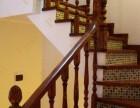 橡木定制新颖楼梯 别墅实木家用楼梯 上海楼梯工厂附近楼梯厂家