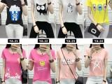 6块圆领奶丝彩色女装韩版短袖 款式多样 可货到付款