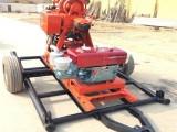 履帶式GK180型農用打井鉆機 礦產取芯鉆機