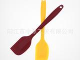 全网最低 耐高温食品级硅胶一体刮刀 大号 奶油刮刀 硅胶刮刀