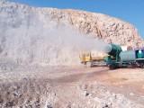 降尘喷雾机 120米远射程空气净化系统 湖北环保厂家制造