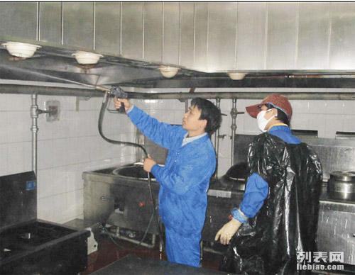 海宁油烟机清洗餐饮类单位食堂学校食堂中大型油烟机清洗