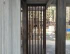 杭州护栏凉亭钢结构表面如何做出仿木纹效果,专业木纹漆施工团队