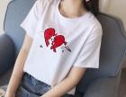 福建哪里厂家直销韩版纯棉女式T恤短袖批发夏季新款女装T恤批发