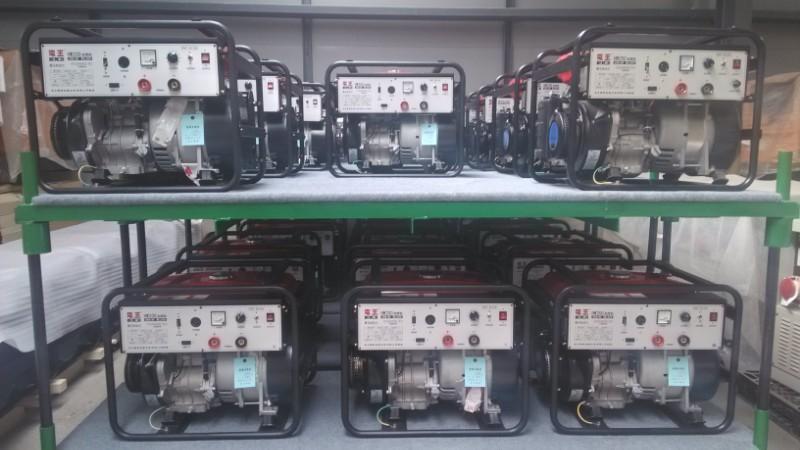 厂家直供日本电王系列200A汽油纤维素下向焊发电电焊一体机