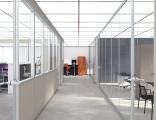重庆百叶高隔断办公室玻璃隔断墙 铝合金钢化玻璃隔音墙屏风隔断