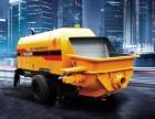 都匀市输送泵出售公司出售二手地泵输送泵混凝土柴油拖泵车载泵